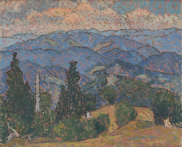 Jozef Kollár – Štiavnické kopce