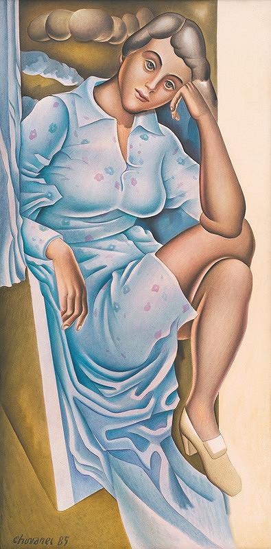 Milan Chovanec – Sediaca žena