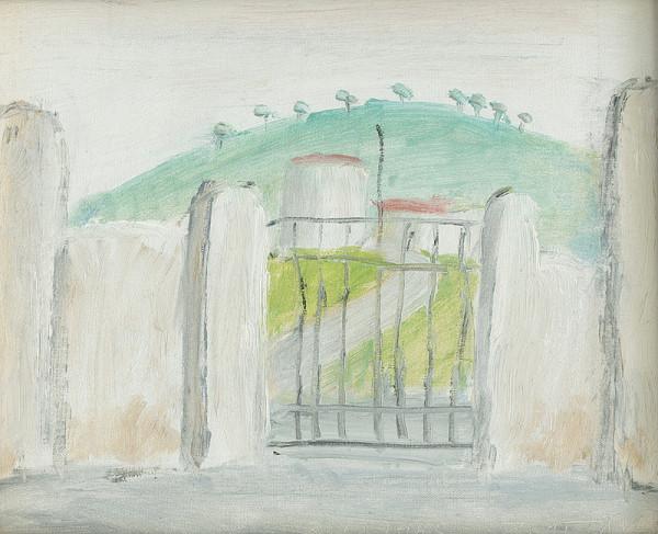 Ernest Zmeták – Pohľad z cintorína v Cefalu