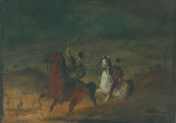Július Rudnay – Jazdci