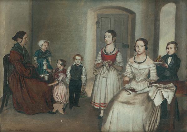 Johann Perger - Rodina Sagarovcov