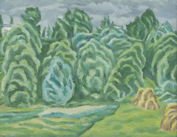 Ernest Zmeták – Stromy pri Starej Ľubovni