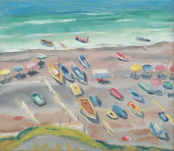 Ernest Zmeták – Pohľad na more