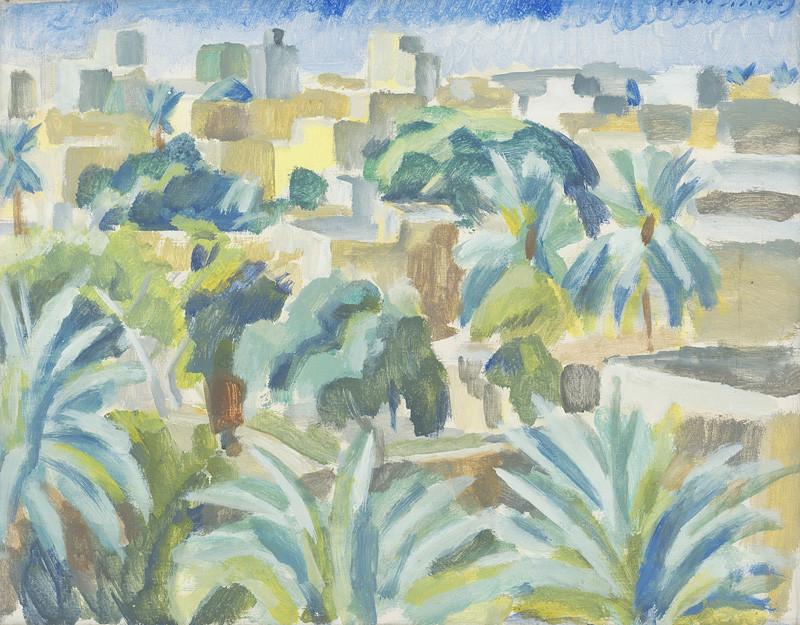 Ernest Zmeták – Bagdad, 1969, Galéria umenia Ernesta Zmetáka