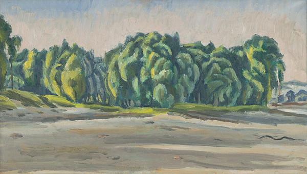 Ernest Zmeták – Stromy pri Dunaji