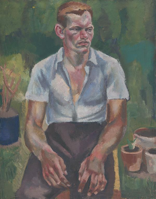 Ernest Zmeták - Portrét brata