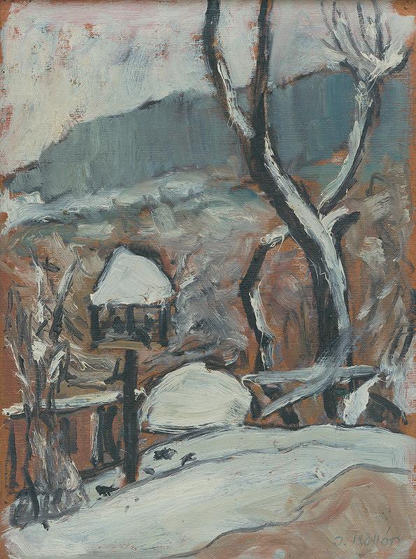 Jozef Kollár – Zimná krajina