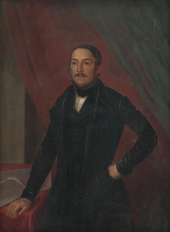 Maďarský maliar – Portrét muža