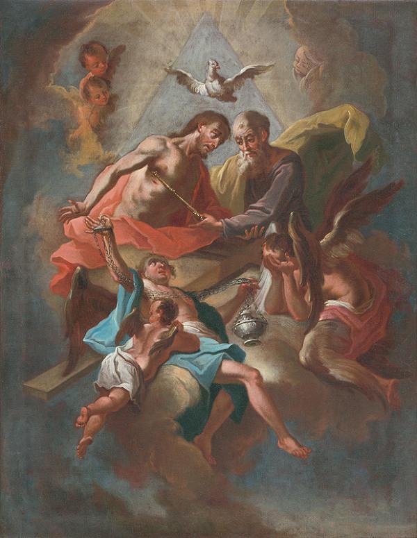 Rakúsky maliar z 18. storočia - Svätá Trojica