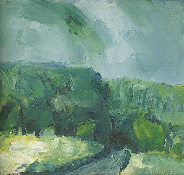 Ernest Kocsis - Zelená krajina