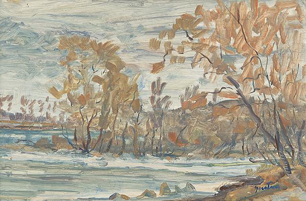 Štefan Gerstner - Zimná krajina