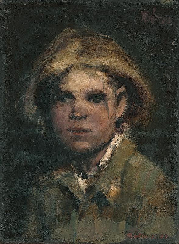 Sándor Bótos - Portrét dievčaťa