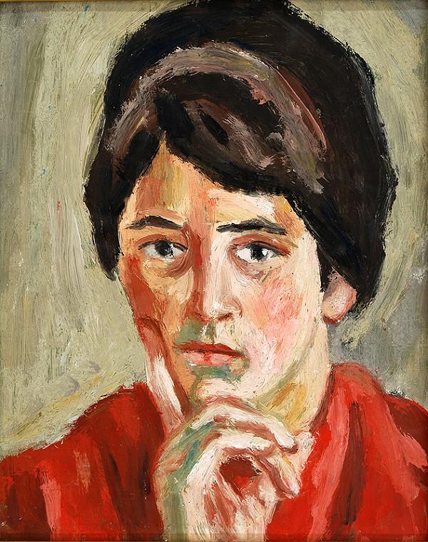Ernest Zmeták – Portrét Danice Zmetákovej