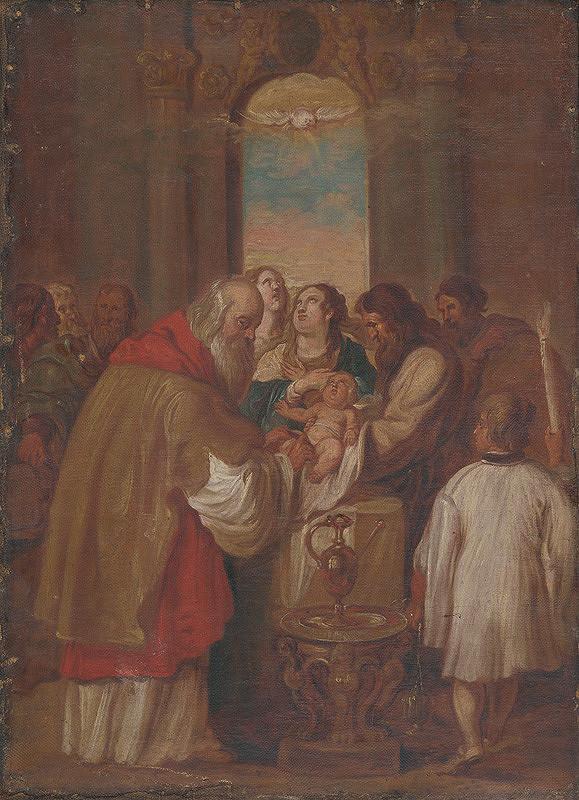 Neznámy maliar – Obriezka Krista