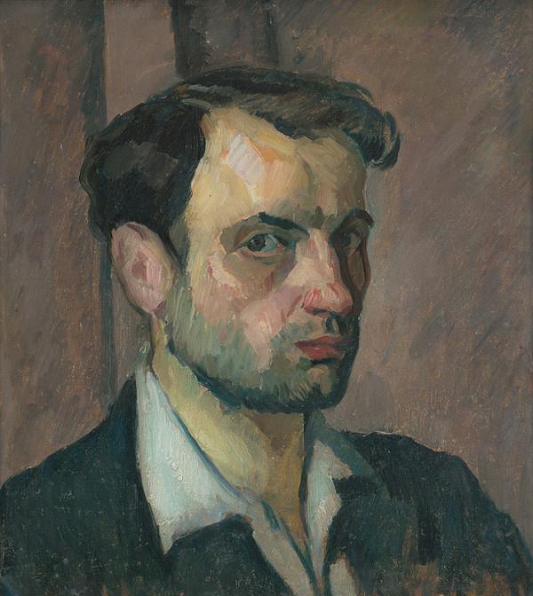 Viktor Belányi - Autoportrét
