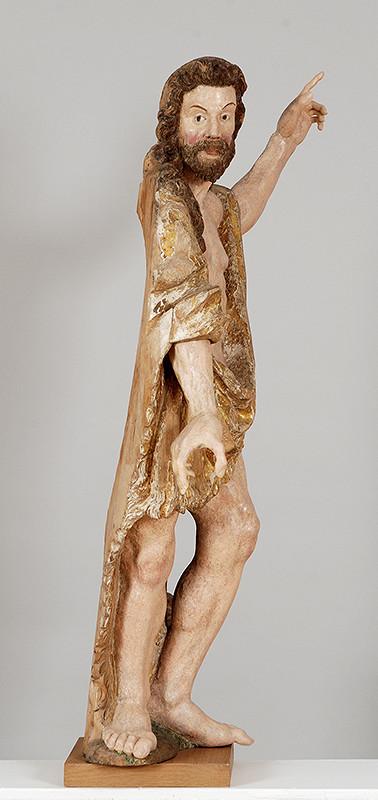 Barokový sochár - Svätý Ján Krstiteľ