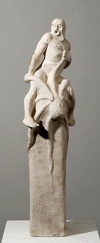 Východoázijský sochár z 19. storočia – Medúza