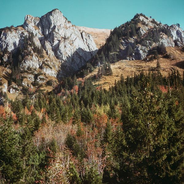 Martin Martinček – V krajine SNP, z cyklu farebných fotografií, 10 ks