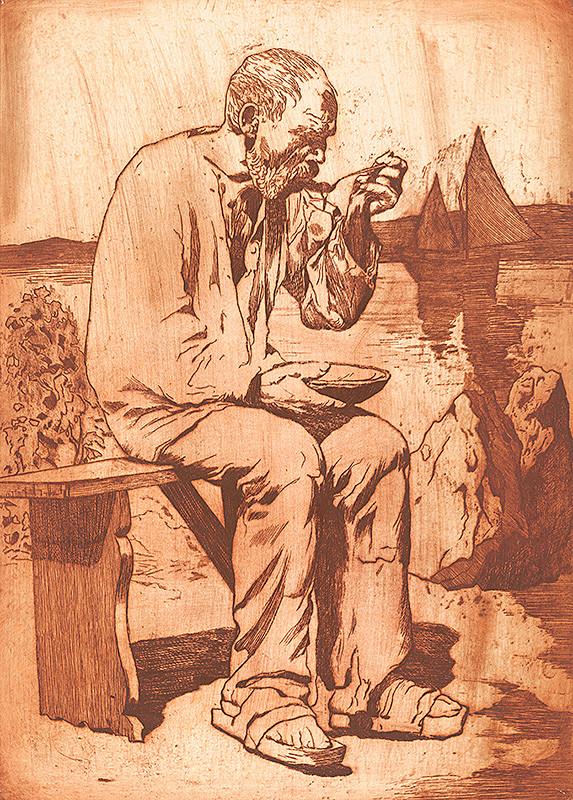 Viktor Hermély – Stary  rybár
