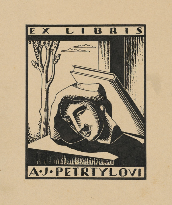 Mikuláš Galanda – Ex libris A.J.Petrtylovi