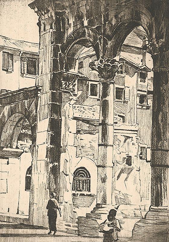 Viktor Hermély – Palác Dioklecián