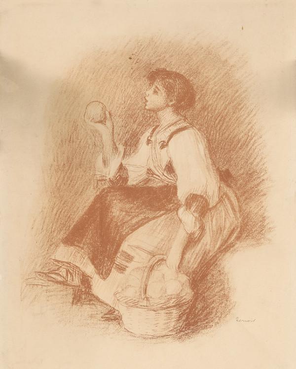 Pierre-Auguste Renoir - Dievča s ovocím