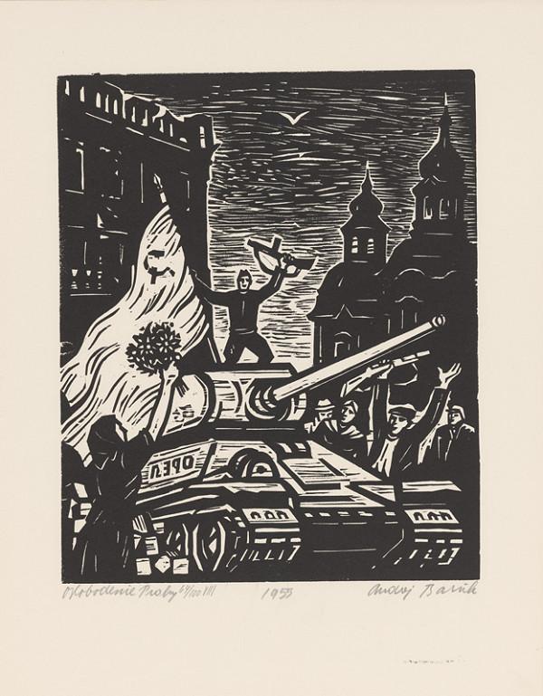 Andrej Barčík – Oslobodenie Prahy