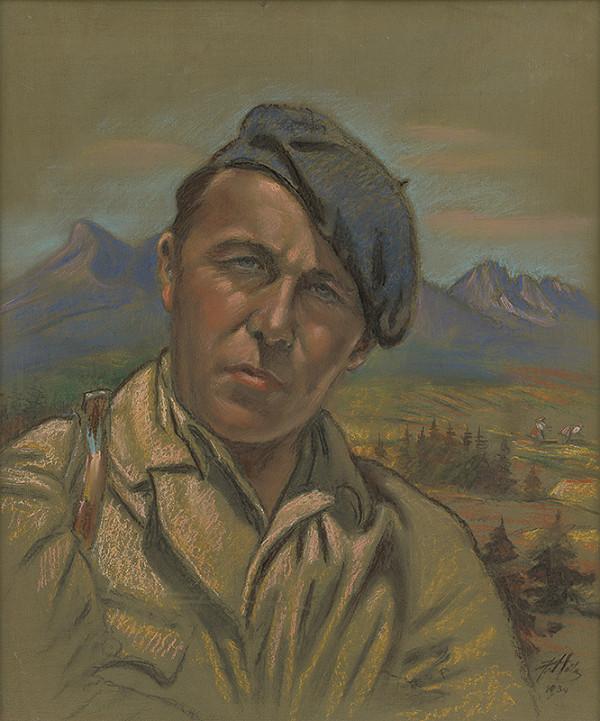 František Hála – Portrét Jána Hálu