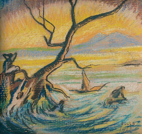 Ľudovít Fulla – Pri vode