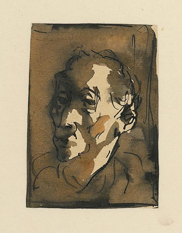 Ernest Špitz – Štúdia mužskej hlavy II.