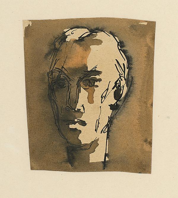 Ernest Špitz – Štúdia mužskej hlavy I.
