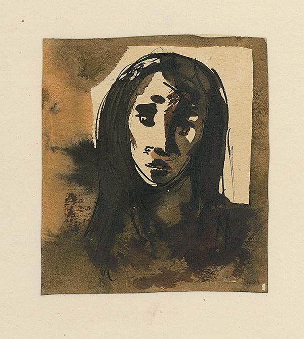 Ernest Špitz – Štúdia ženskej hlavy I.