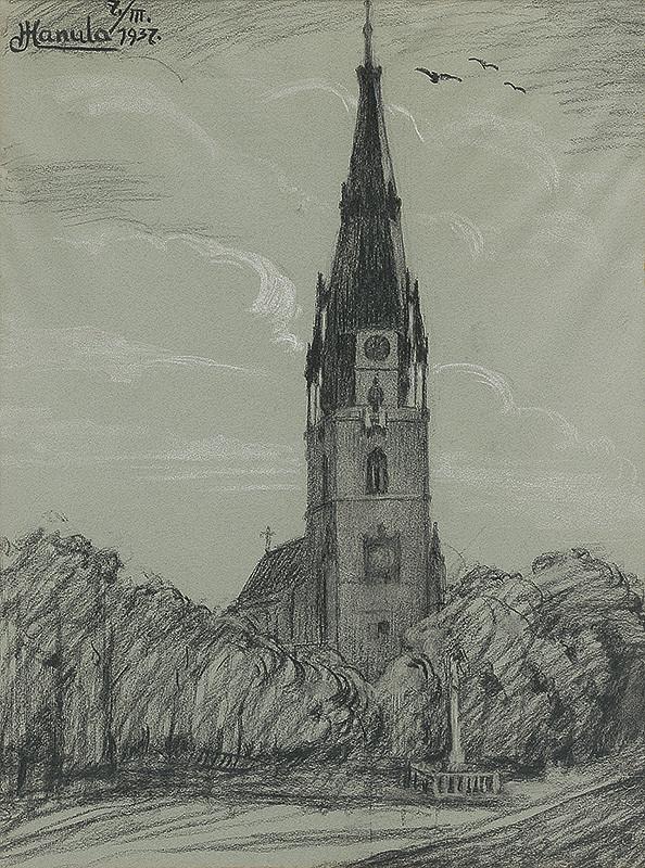 Jozef Hanula – Kostol v Sp.Novej Vsi