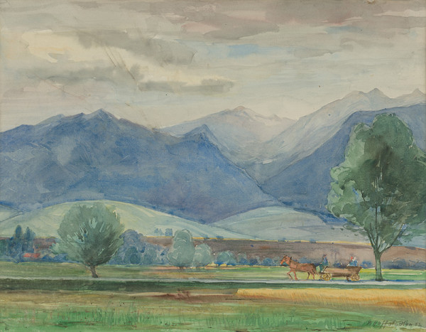 Bedrich Hoffstädter – Krajina pri Mikuláši