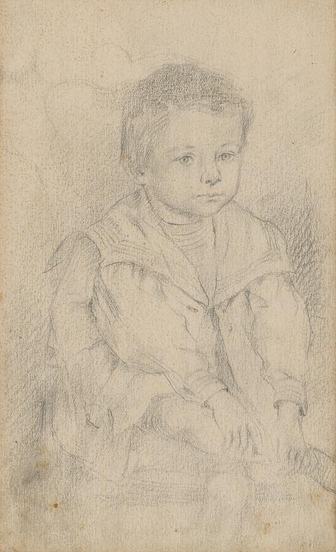 Alojz Fellegi – Portrét chlapčeka