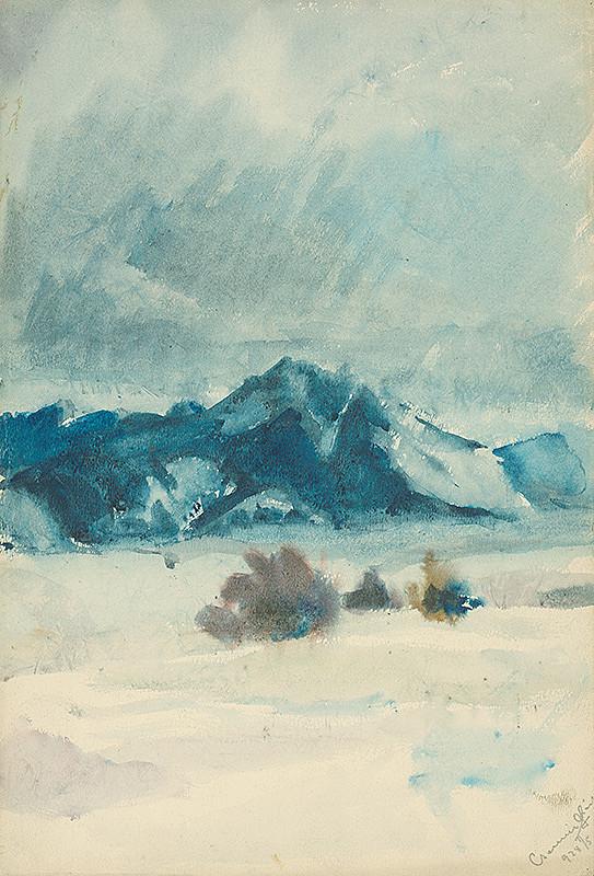 Ladislav Čemický – Zimná krajina