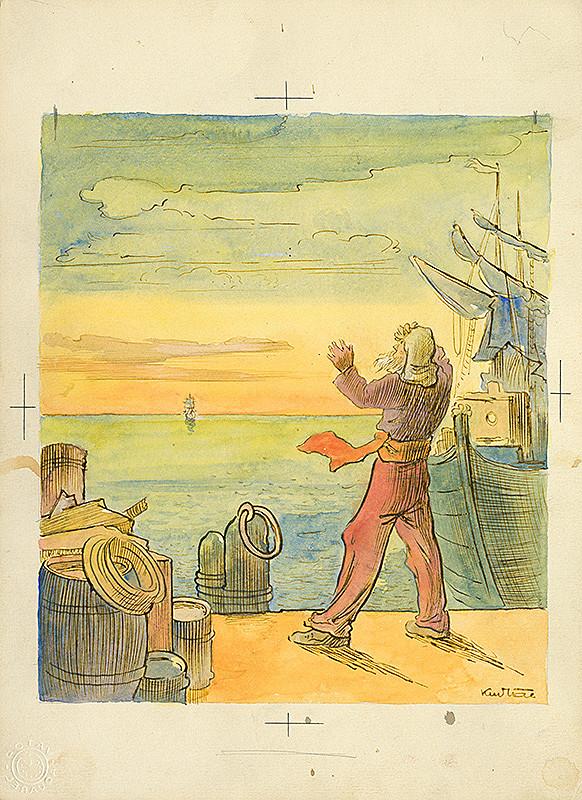 František Kudláč – Pri mori