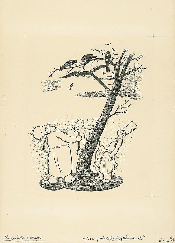 Aurel Kajlich – Pod stromom