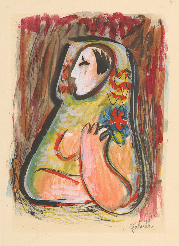 Mikuláš Galanda – Dievča s kvetom