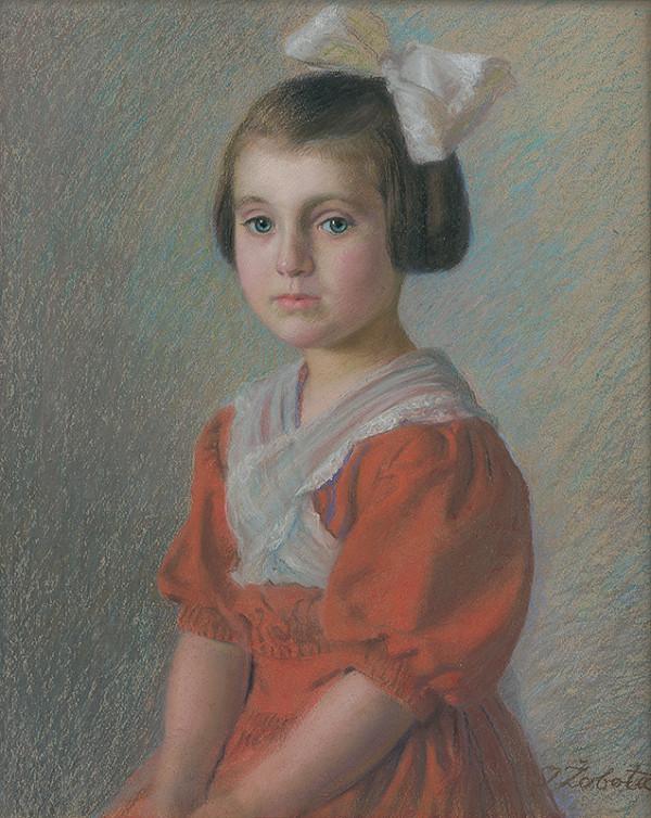 Ivan Žabota – Portrét Eleny Volkovej