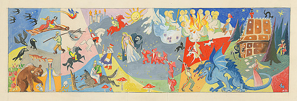 Karol Ondreička – Ilustrácia k rozprávke