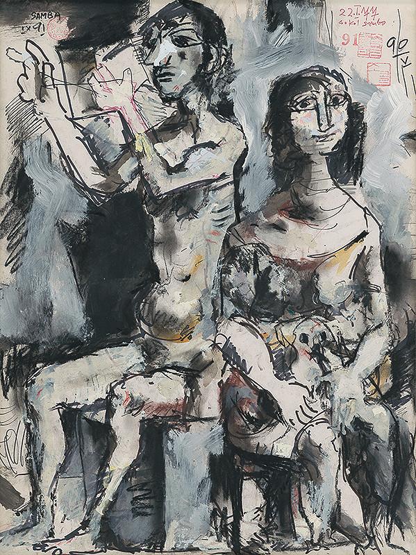 Koloman Sokol - Dve ženy