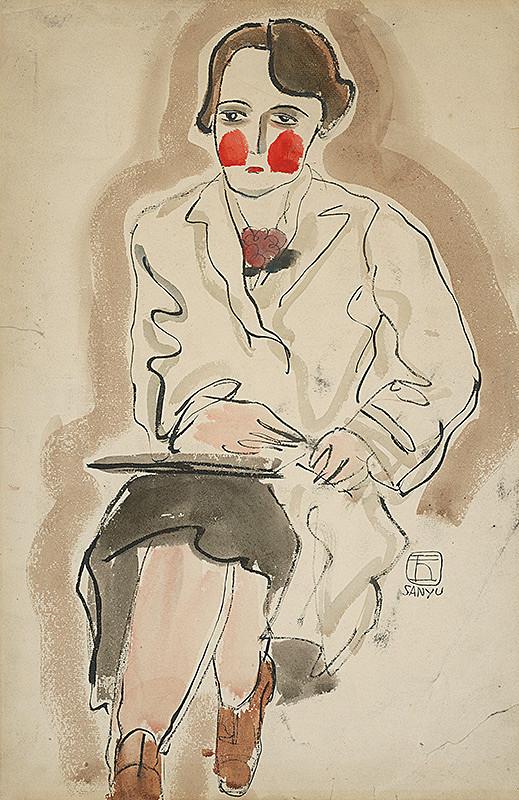 Sanyu – Portrét pani Ester