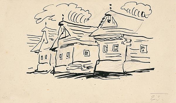 Jan Hála – Važecké drevenice