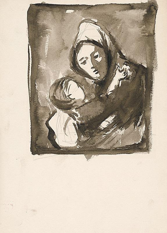 Ernest Špitz - Matka s dieťaťom