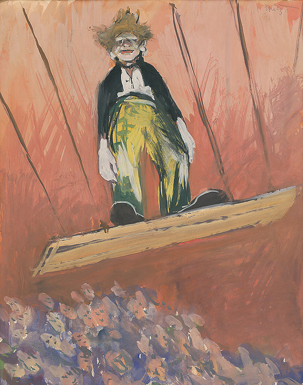 Ernest Špitz – Clown
