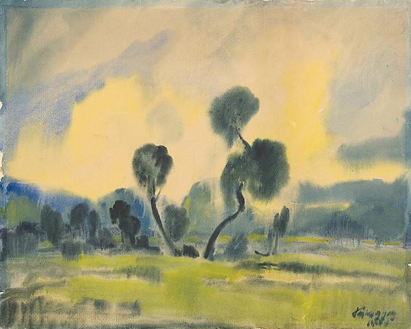 Zolo Palugyay – Stromy na lúke