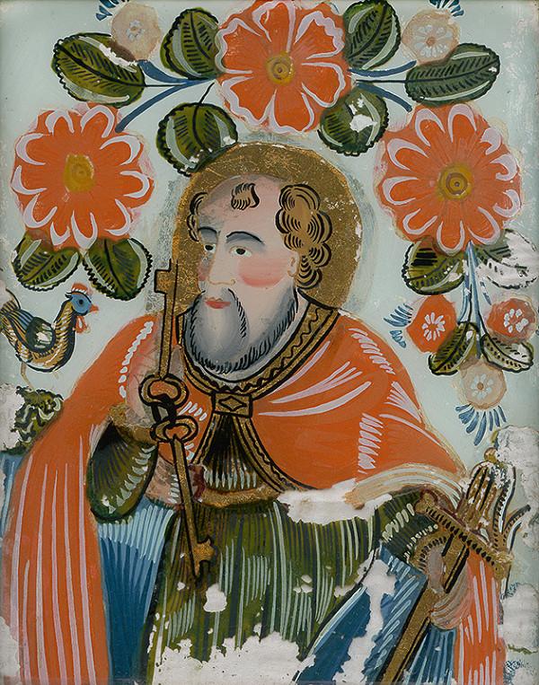 Slovenský ľudový autor – Sv. Peter