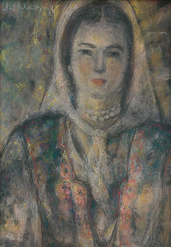 Janko Alexy - Moja manželka  (Dievča s perleťovým náhrdelníkom)