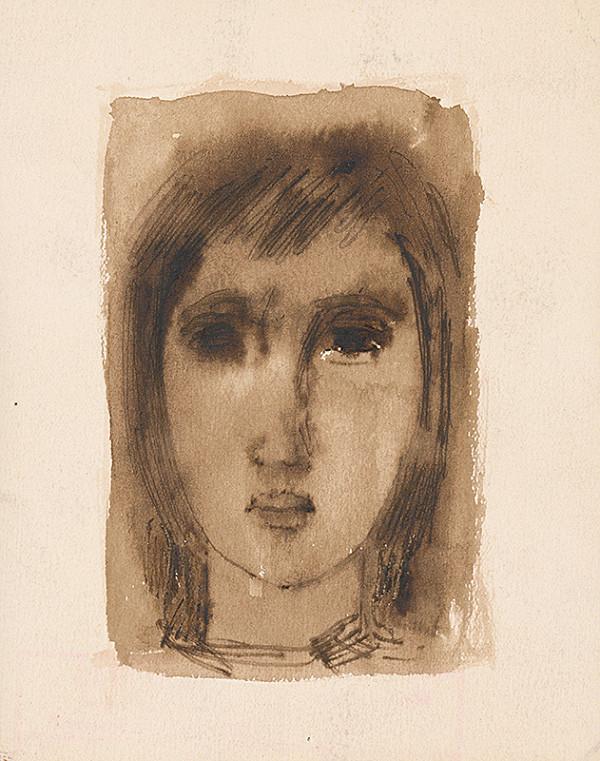Ernest Špitz – Hlava dievčaťa